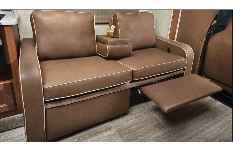 2019 Forest River Sunseeker couch and recliner