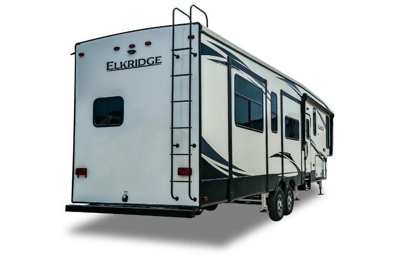 2020 Heartland ElkRidge angled rear shot
