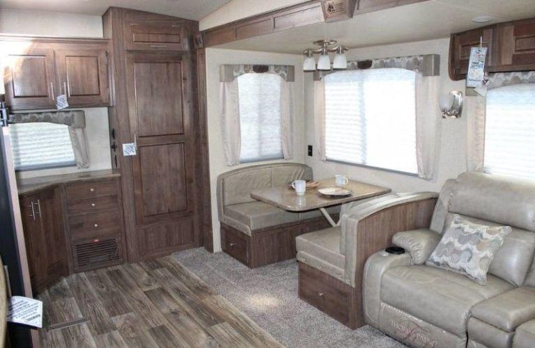 2020 Northwood Arctic Fox interior view