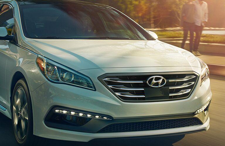 2017 Hyundai Sonata close-up