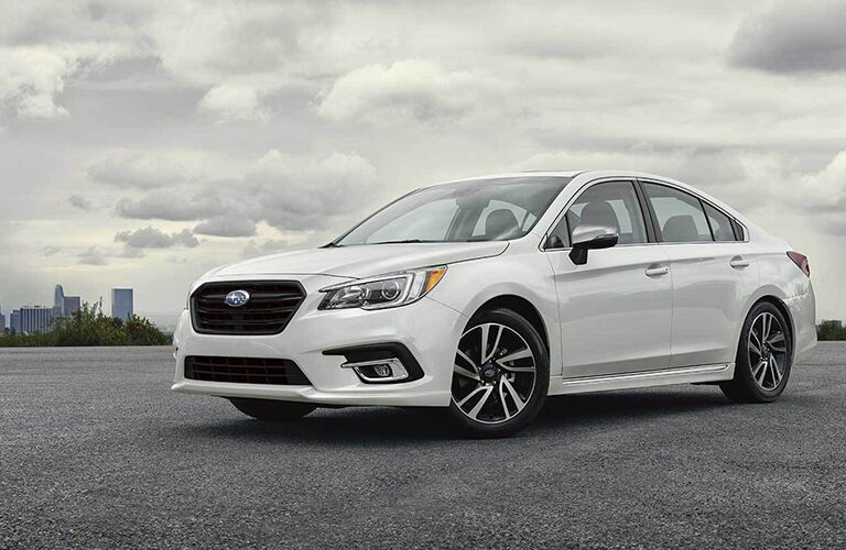 2019 Subaru Legacy parked in an empty lot