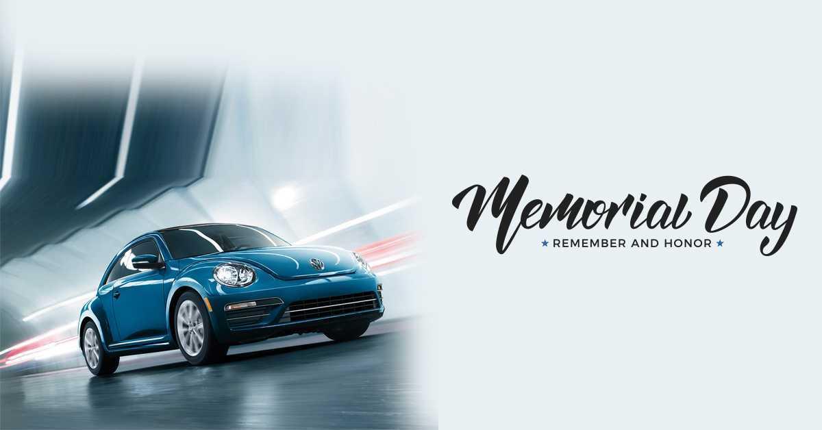 2019 VW Memorial Day