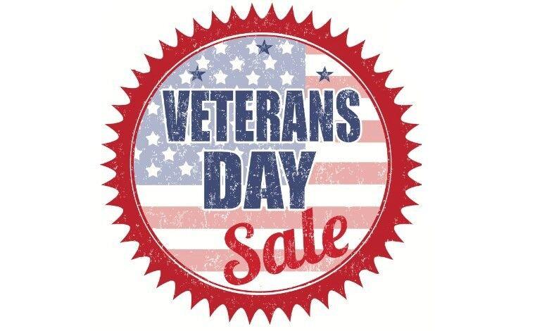 2018 Veterans Day Sales