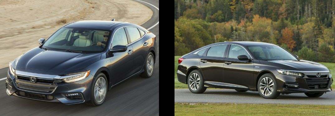 2019 Honda Insight vs 2019 Honda Accord Hybrid