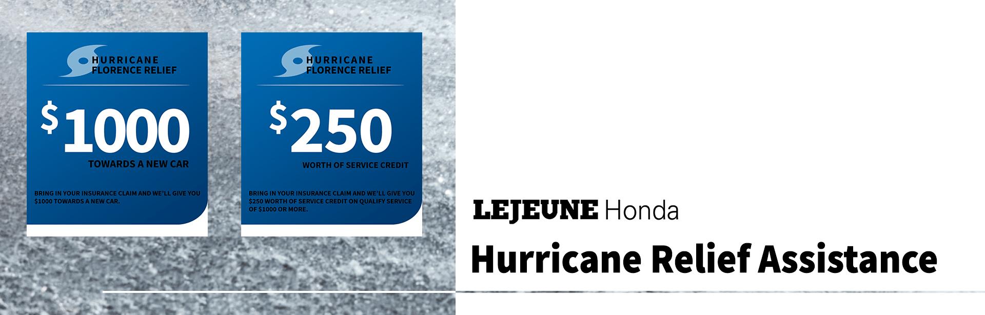 Hurricane Florence Relief Program