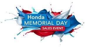 2019 honda memorial day sales