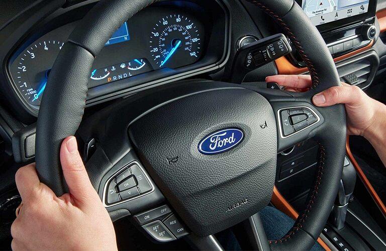 2019 Ford EcoSport steering wheel