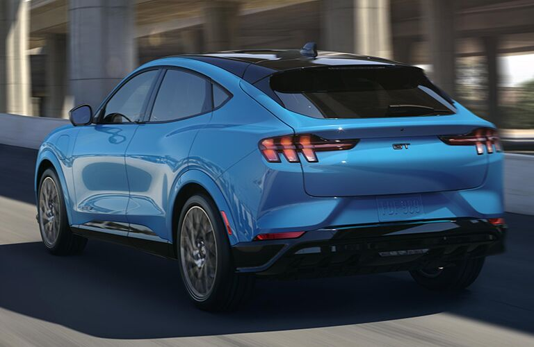 2021 Ford Mustang Mach-E from exterior passenger rear