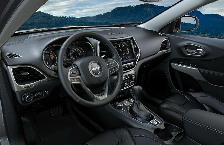2019 Jeep Cherokee interior front