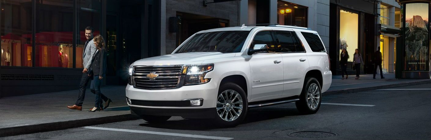 full view of the 2019 Chevrolet Tahoe