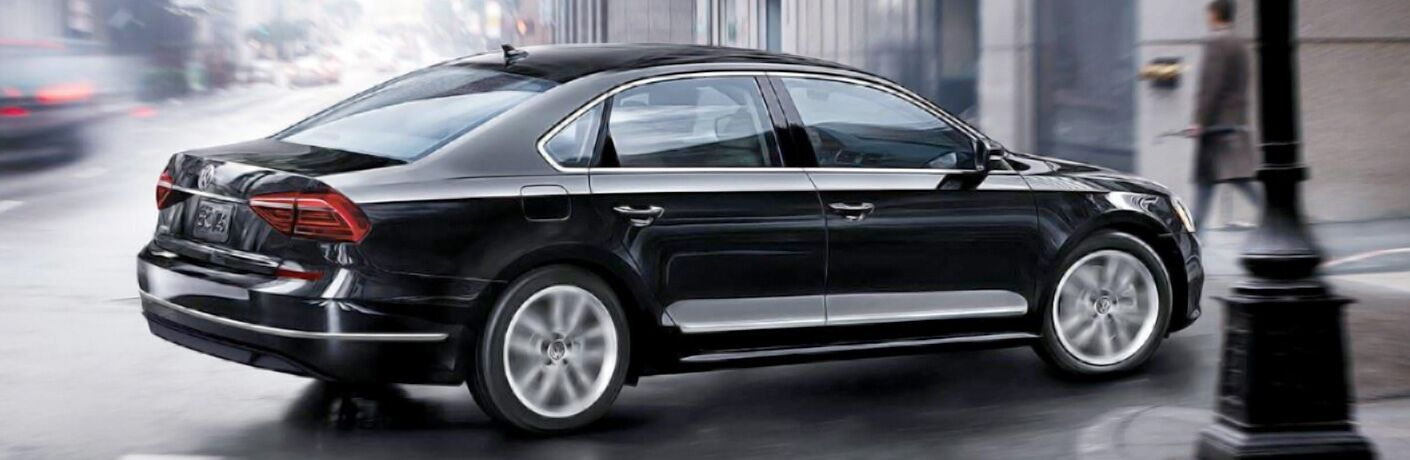 Volkswagen Passat side profile