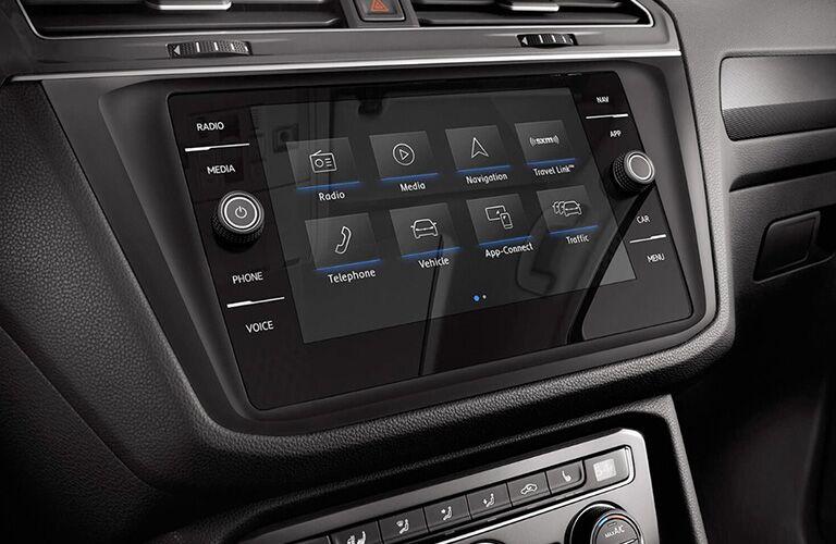 Volkswagen Tiguan infotainment system