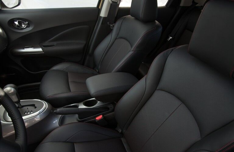 Front row seats in the 2013 Nissan JUKE