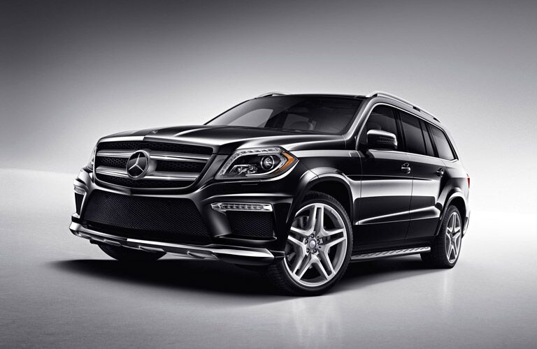 Mercedes-Benz GL-Class front profile