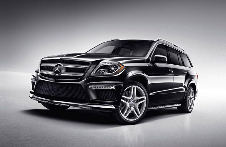 Mercedes-Benz GL-Class front profile