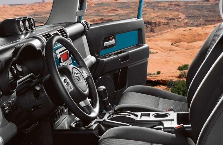 Toyota FJ Cruiser front interior