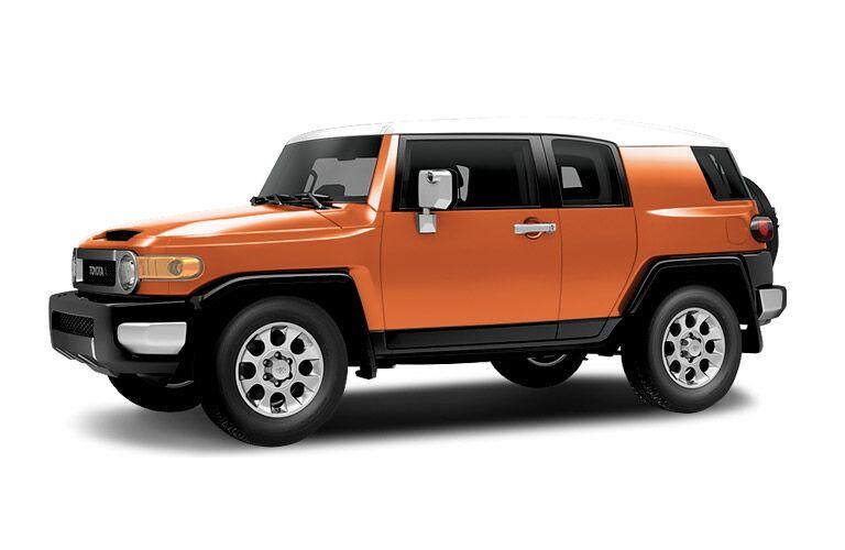 Toyota FJ Cruiser side profile