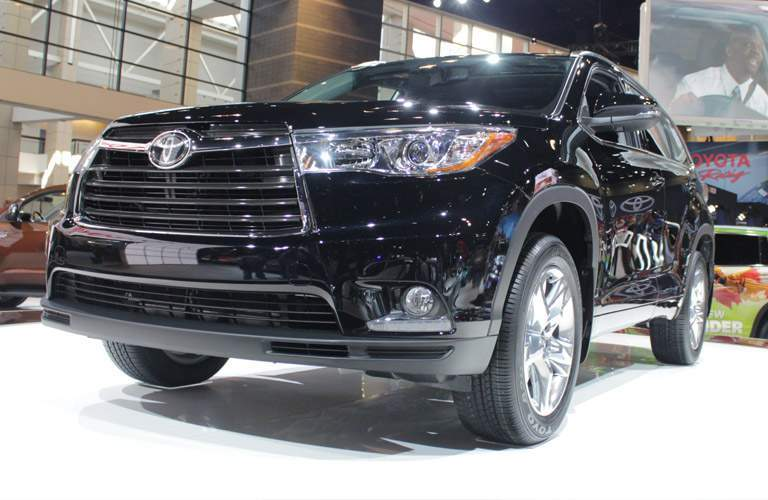 2014 Toyota Highlander in a show room