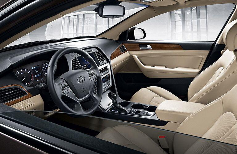 Hyundai Sonata front interior