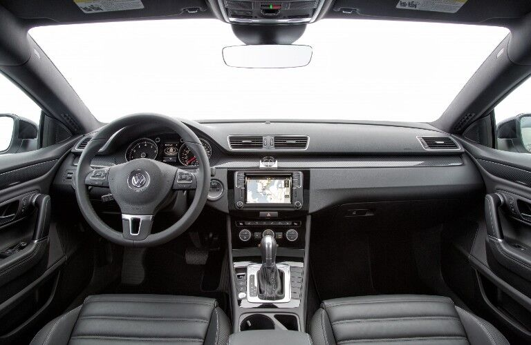 Front interior of the 2017 Volkswagen CC