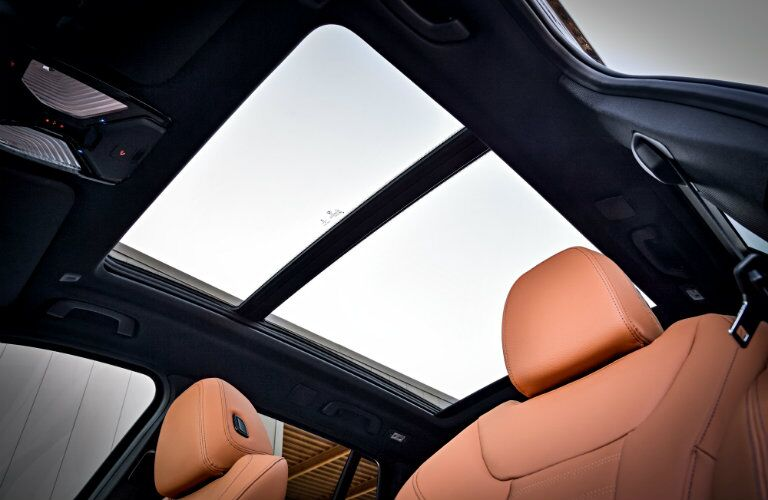 BMW X3 sunroof