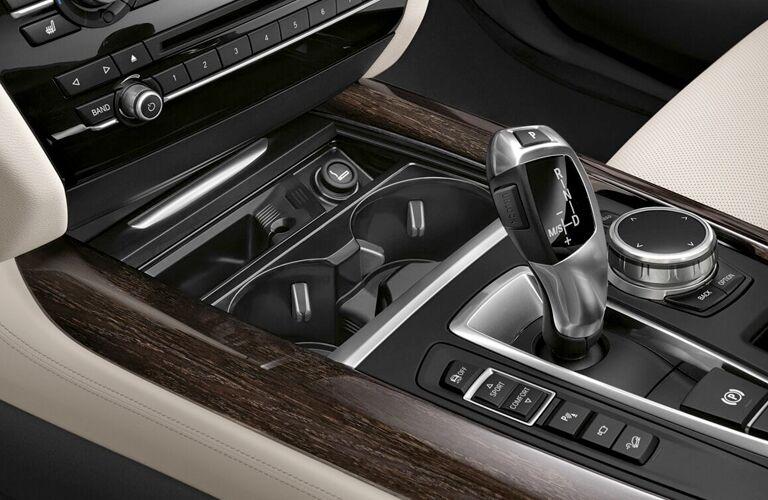 BMW X5 center console