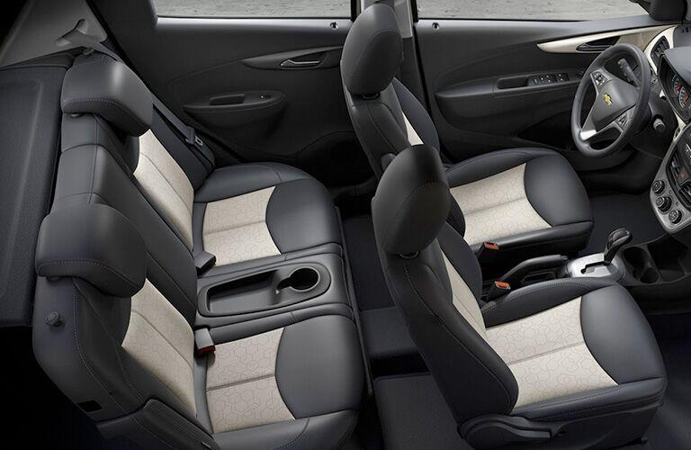 Chevrolet Spark passenger seats