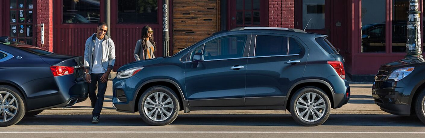 Chevrolet Trax parked on a street