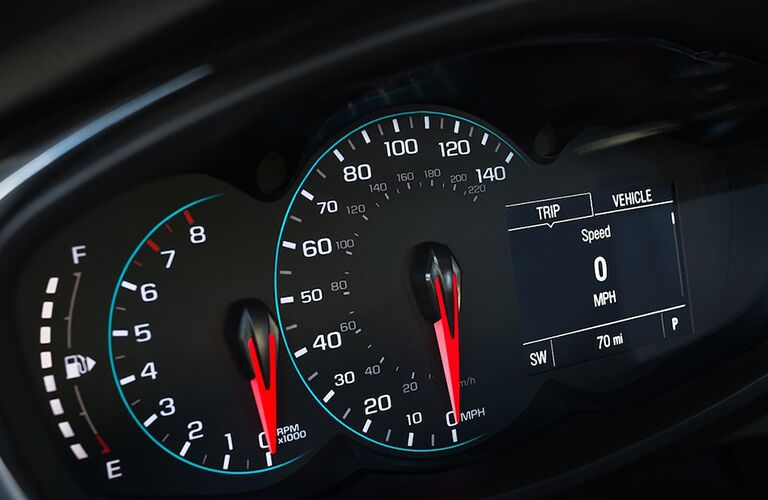 Chevrolet Trax performance gauges