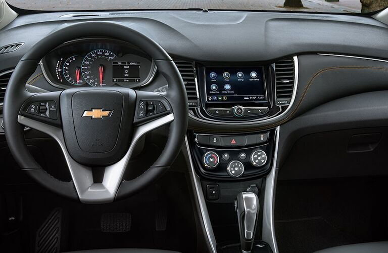 Chevrolet Trax dashboard features