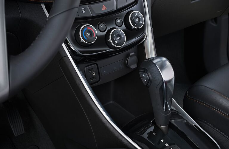 Chevrolet Trax automatic shifter