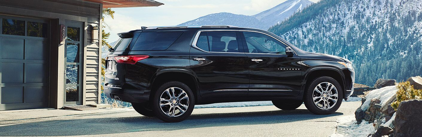 Chevy Traverse side profile