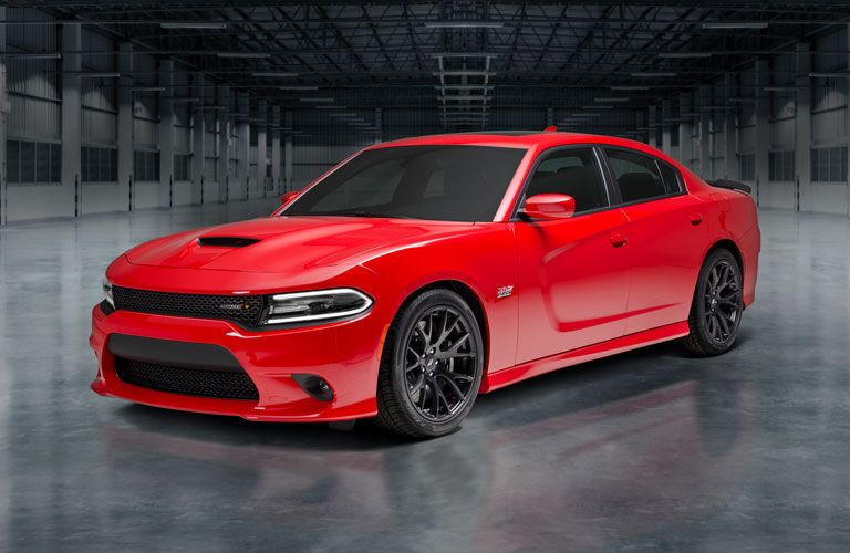 Dodge Charger front and side profile