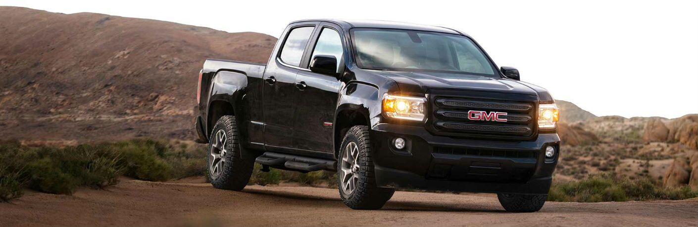 GMC Canyon front profile