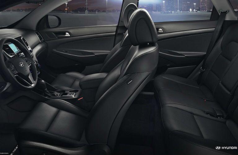 Hyundai Tucson interior passenger seats