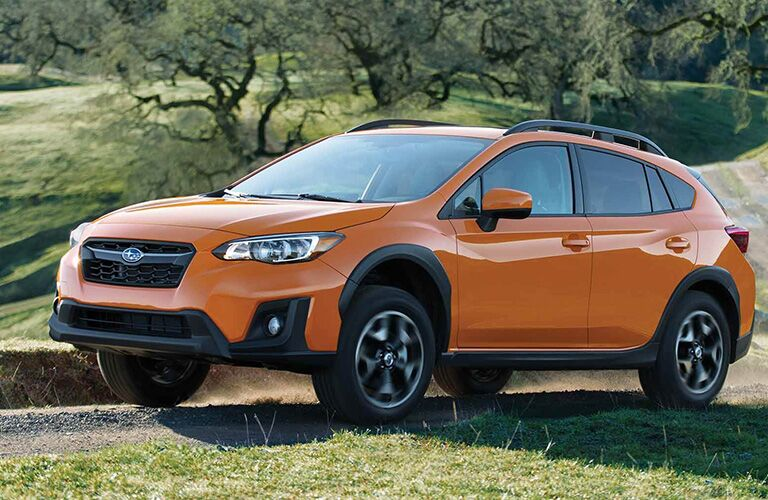 Subaru Crosstrek side profile