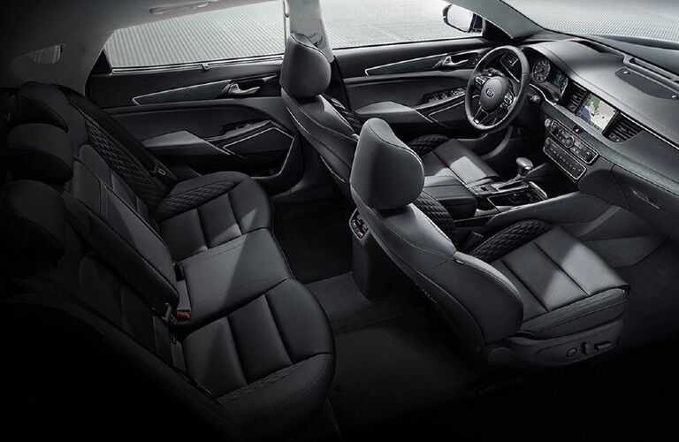 Seats inside the 2019 Kia Cadenza