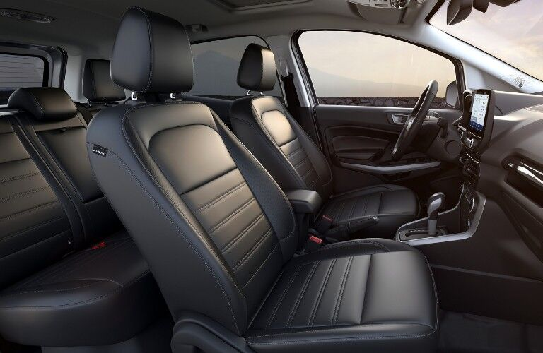 Seats inside the 2020 Ford EcoSport