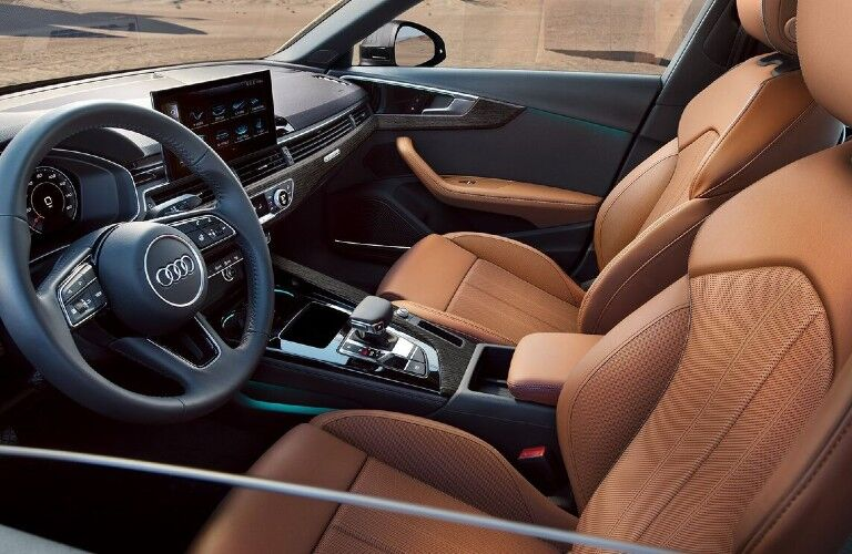 Front seats in the 2021 Audi A4