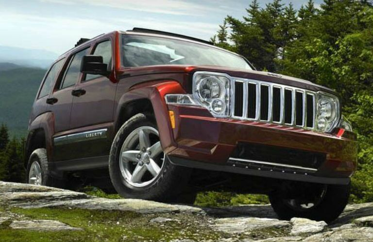 Jeep Liberty front profile
