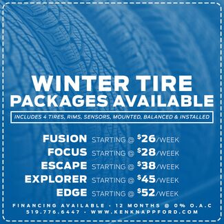 Winter Tire Financing Available