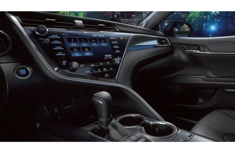 2019 Toyota Camry interior driver side shot