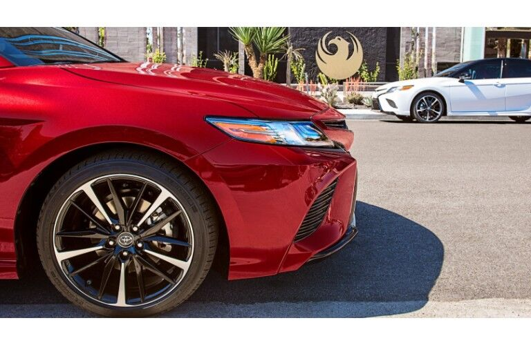 2019 Toyota Camry close up front grille shot