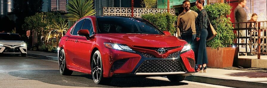2019 Toyota Camry Supersonic Red
