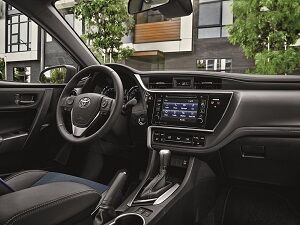 2019 Toyota Corolla Interior Technology