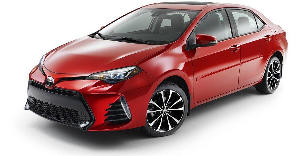 2019 Toyota Corolla Barcelona Red Metallic