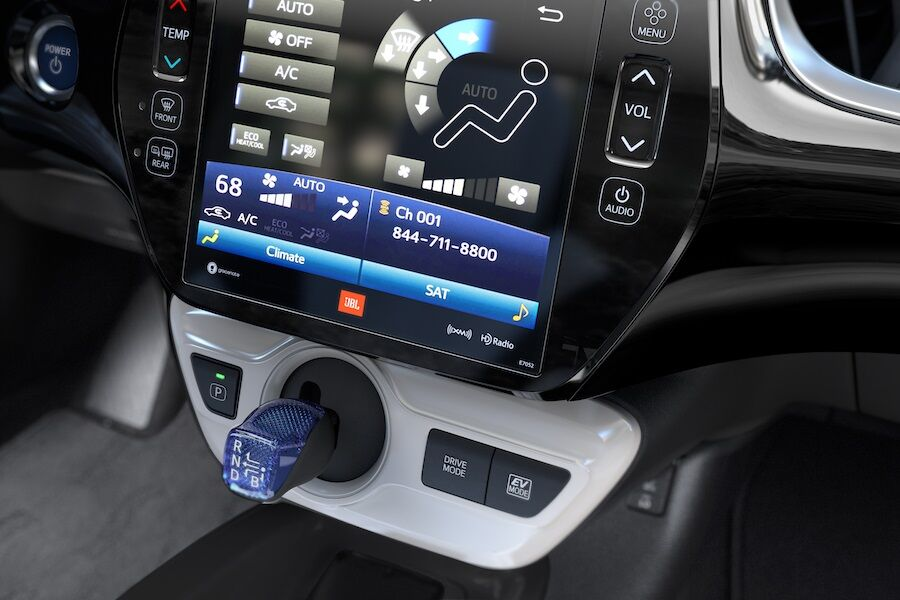 Toyota Prius Interior Technology Features