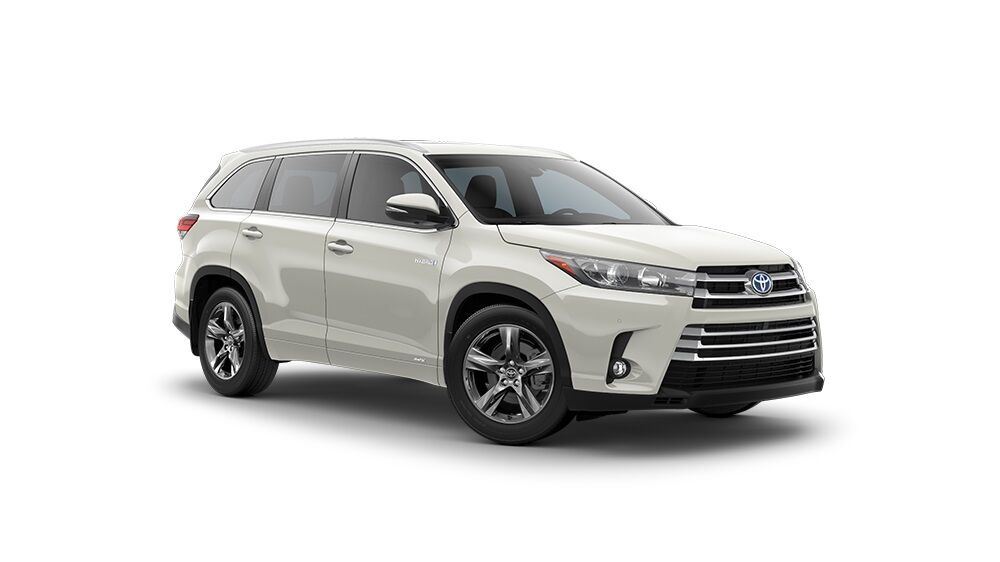 Toyota Highlander Limited Blizzard Pearl
