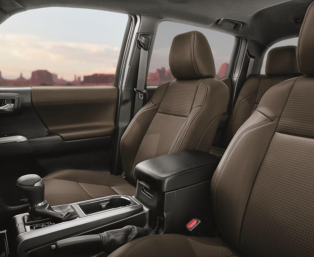 2019 Toyota Tacoma Interior Safety Features