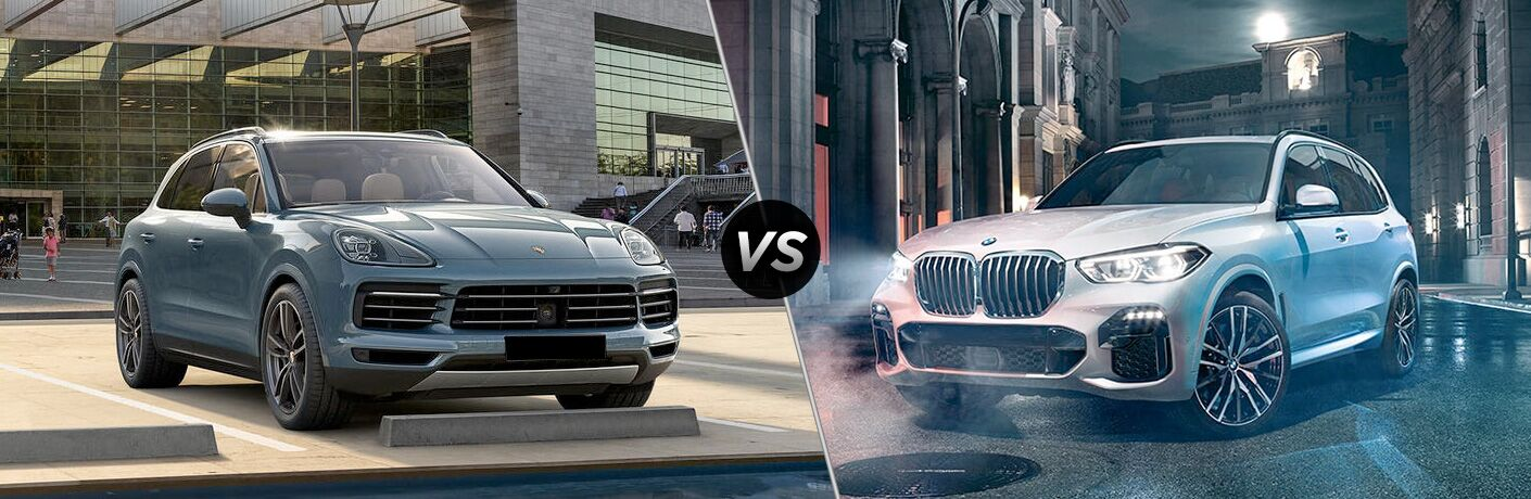 2019 Porsche Cayenne vs 2019 BMW X5 comparison image